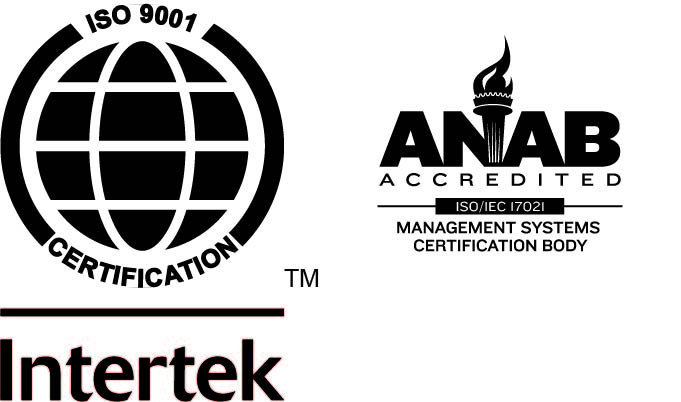 View our ISO Certified Logo